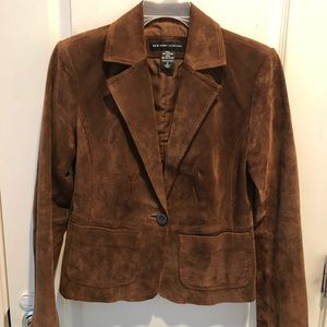 100% Suede Leather Jacket